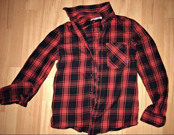 Рубашка овесайз