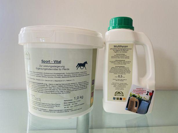 Zioła Sport-Vital dla koni, gołebi i innych zwierząt multihysan