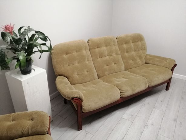 Sofa 3 osobowa + fotel.