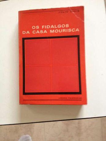 Os Fidalgos da Casa Mourisca, de Júlio Dinis, edições anos 60