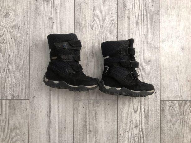 Buty na zimowe na rzepe Bartek rozm 27 czarne