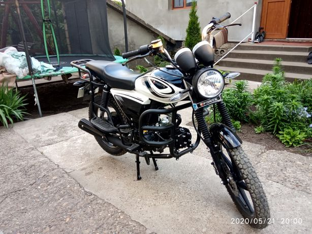 Мотоцикл Forte 125 кб