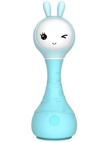 Multimedialna zabawka edukacyjna Alilo Smarty Bunny niebieski/ Julando