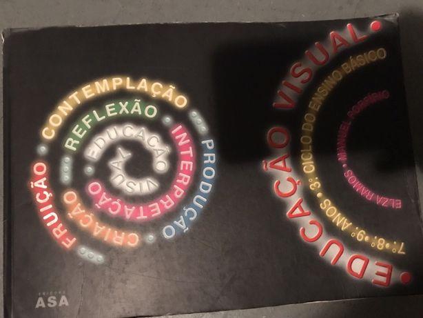 Livro de Educação Visual - 7º, 8º, 9º Anos da ASA Edições