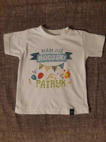 Koszulka na roczek Patryk