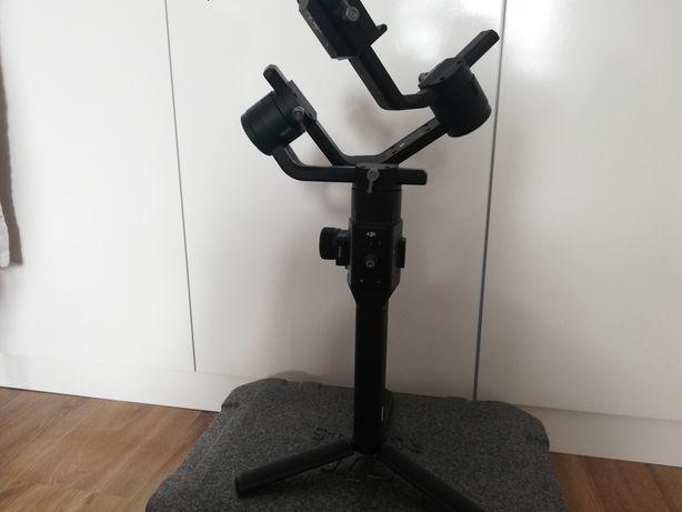 Stabilizator Gimbal DJI Ronin S + uchwyt podwójny Dual Grip