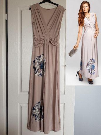 elegancka ciążowa sukienka Happy mum Happymum r S idealna do karmienia