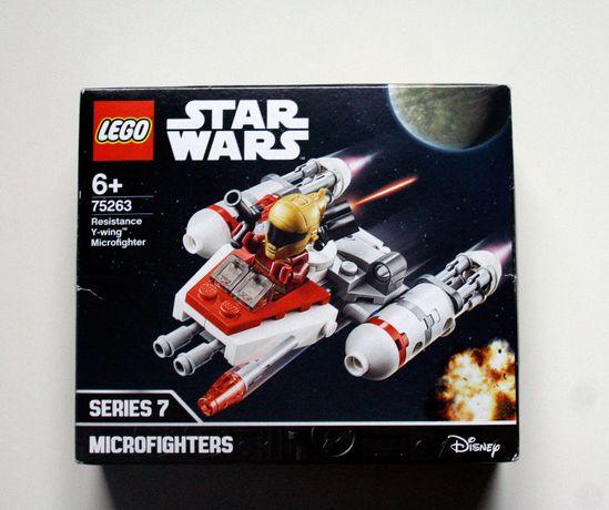 Lego Star Wars Mikromyśliwiec Y-Wing Ruchu Oporu 75263