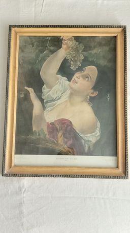 Картина под стеклом.