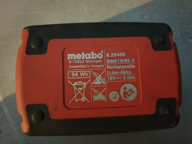 Bateria metabo