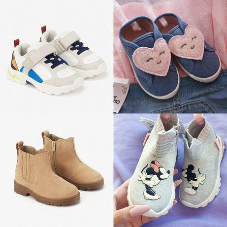 Оригинал! Разные Zara 19 20 21 22 23 24 25 26 слипоны ботинки сапожки