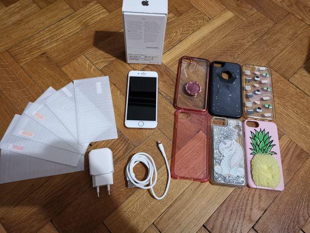 IPhone 7 Rose Gold Super Stan Zestaw Zamiana