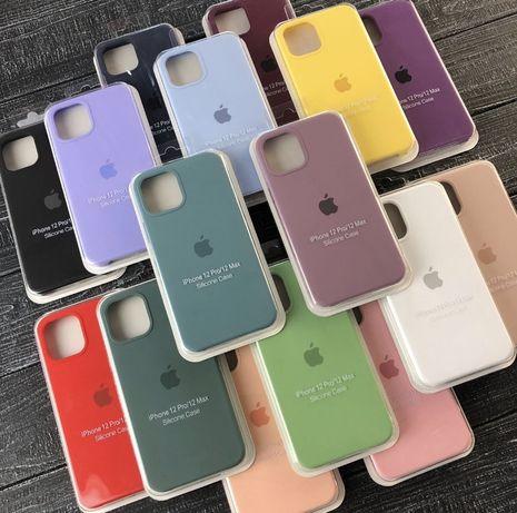 Силиконовый чехол на айфон/iphone 7/8 plus/Xr/Xs max/11pro/12про макс