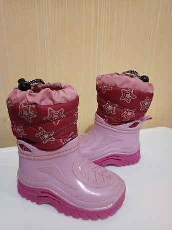 Резиновые сапоги ботинки гумаки 24 гумові чоботи 14,5 типа Crocs Demar