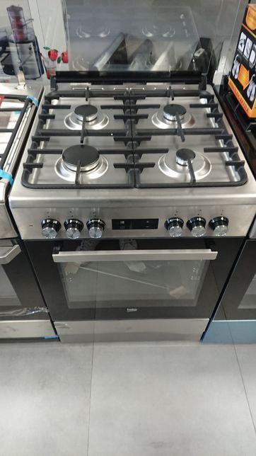 Beko FSM62332DXT Kuchnia gazowo-elektryczna outlet