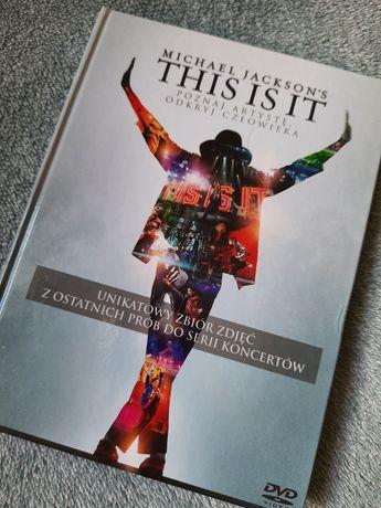 Okazja Michael Jacksons This is it płyta CD unikatowy zbiór zdjęć