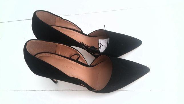 Szpilki Reserved nowe rozmiar 40 buty damskie a la zamsz