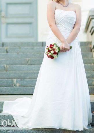 Фирменное американское свадебное платье Alfred Angelo