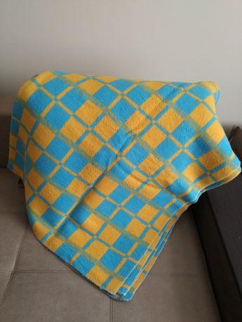 Одеяло шерстяное полуторное