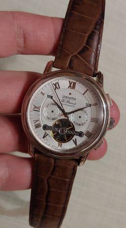 """Часы швейцарской марки """"Zenith"""" automatic Swiss крупные и часы ссср."""
