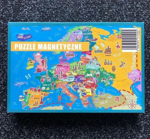 Puzzle magnetyczne Europa 120 elementów