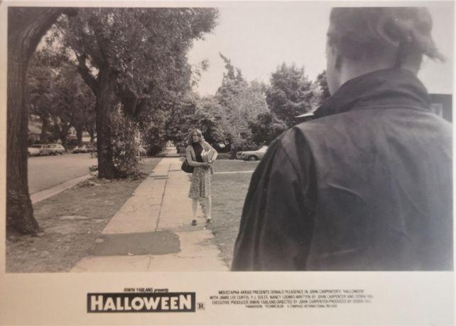 Fotosy reklamowe z filmu Halloween Johna Carpentera