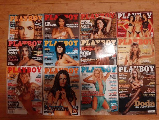 Playboy rocznik 2005-komplet 12szt
