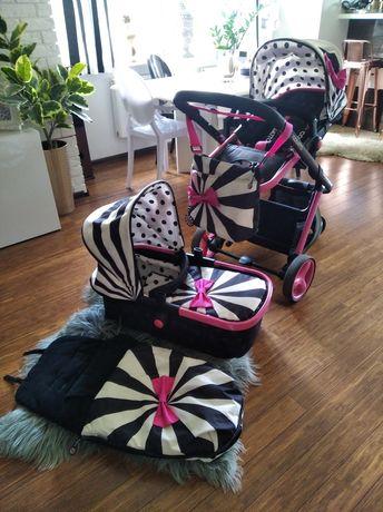 Piękny wózek cosatto dla dziewczynki