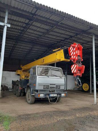 Камаз 5511 Кран 2005 год , грузоподьемность 25 тонн