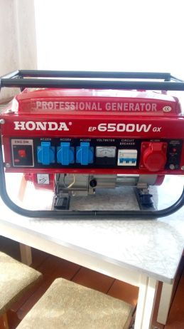 Генератор HONDA EP6500 W GX