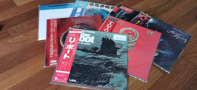 Japońskie płyty winylowe - japan obi vinyls