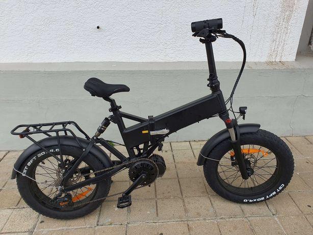 Bicicleta eletrica / electrica ebike 1000W pneu FAT 20'' - 40 km/h