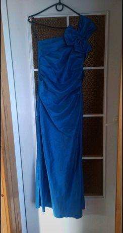 Sukienka balowa plus szal