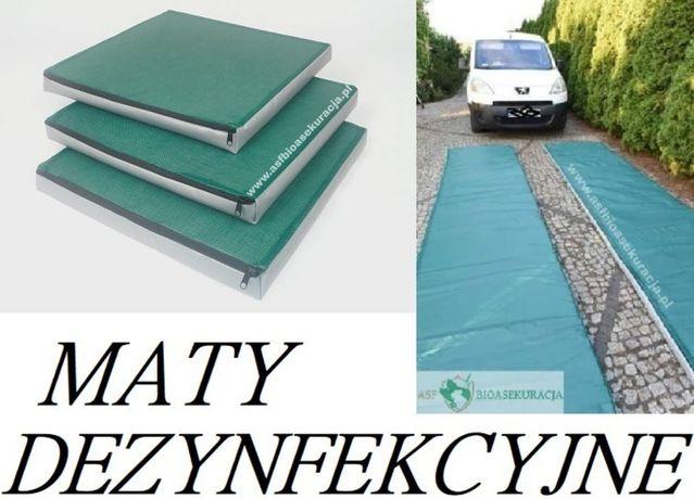 Maty Mata Dezynfekcyjna 100X80X4 PRODUCENT Super Cena Jakość