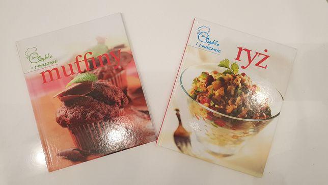 Szybka i spraawnie: mufiny oraz ryż- dwie książki