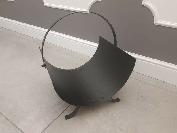 Metalowy stojak na drewno Westwing