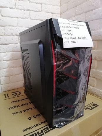 Игровой компьютер i7 16gb ОЗУ HDD 500gb RX560 - 4GB Гарантия!