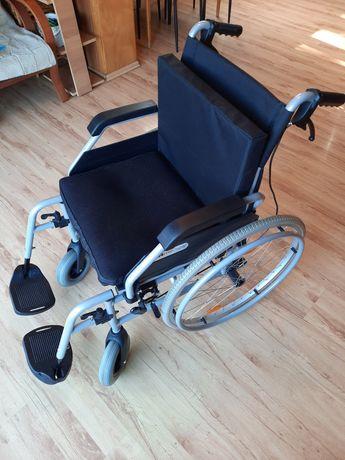 Wózek inwalidzki + poduszka przeciwodleżynowa GRATIS