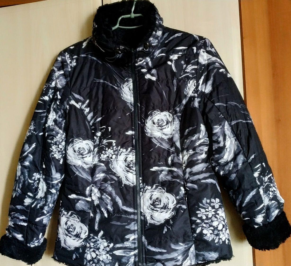 Двухсторонняя демисезонная куртка. Размер 38. Германия