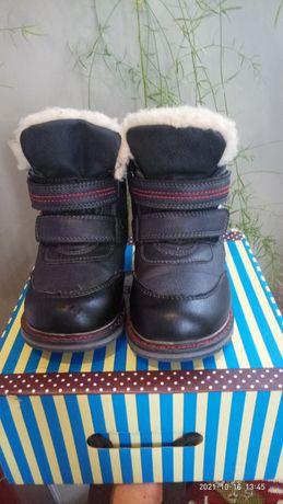 Продам зимние сапожки