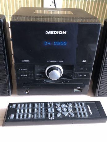 Medion MD82268 Radio Cd DVD Usb Mini Wieża Pilot