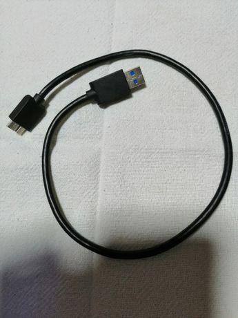Cabo USB 3.0, CABO RCA, CABO VGA, Cabo com scary para RCA