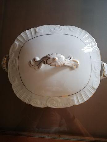 Terrina de Porcelana Vista Alegre carimbo de 1947/1968