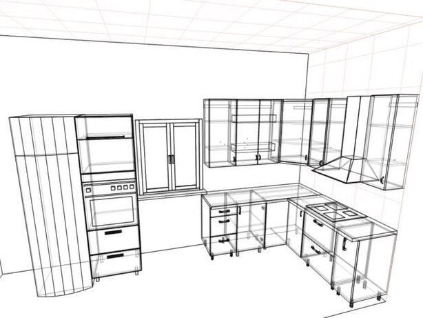Кухня ламинированное ДСП
