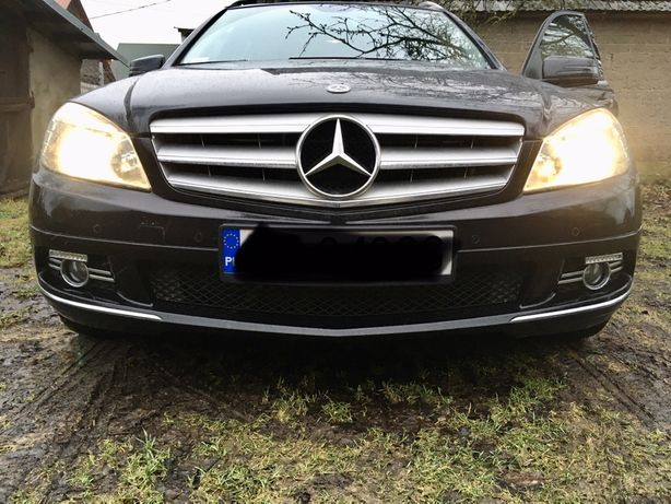 led drl dzienne mercedes w204 kratka halogen avantgarde philips