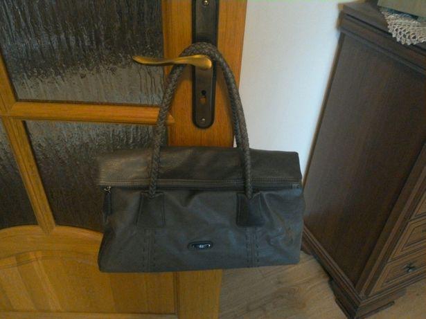 Torba torebka szara duża praktyczna