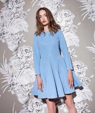 Yoshe niebieska sukienka błękitna 36 elisabetta boss aggi camilla s