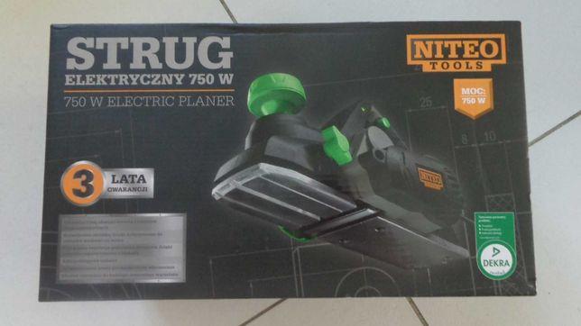 Strug  elektryczny  750W NITEO TOOLS nowy karton