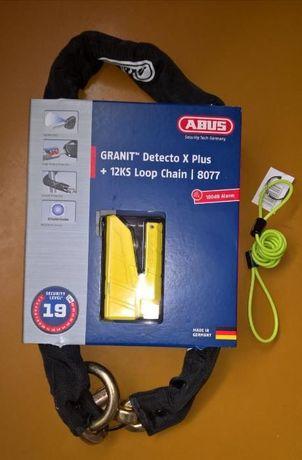 Łańcuch antykradzieżowy z blokadą Abus Granit Detecto 8077