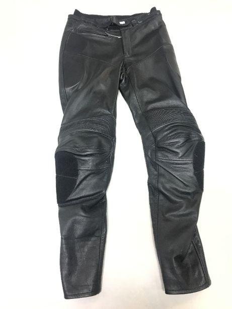 Spodnie Motocyklowe Akito Skóra Sportowe Skórzane NOWE !